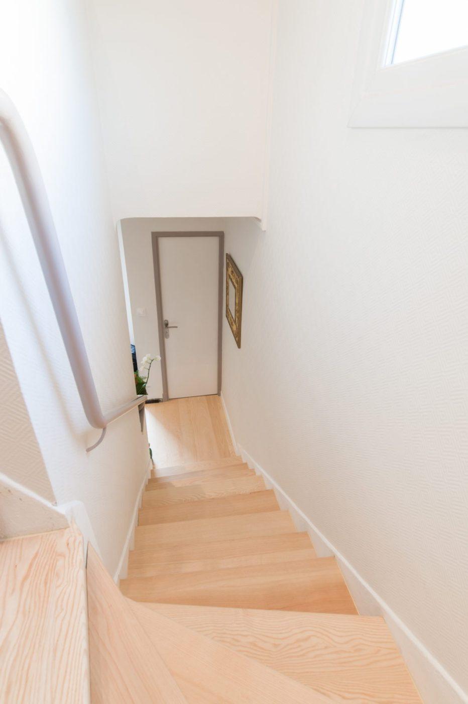 escalier bois toulouse - menuiserie mostini