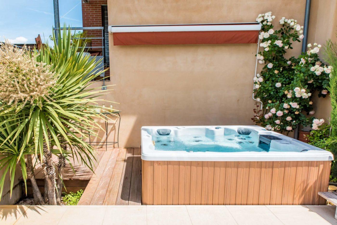 habillage spa terrasse