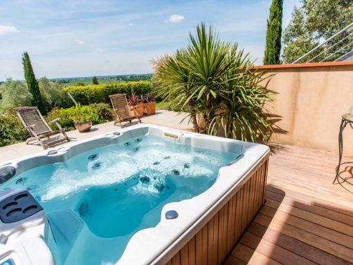 Terrasse pour Jacuzzi Toulouse