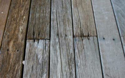 Que faire avec une terrasse en bois grise